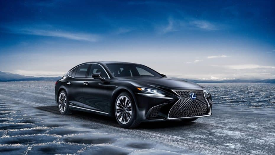 El Lexus LS 500h deslumbra en Ginebra con su Multi Stage Hybrid System y un 0-100 en 5,4 segundos