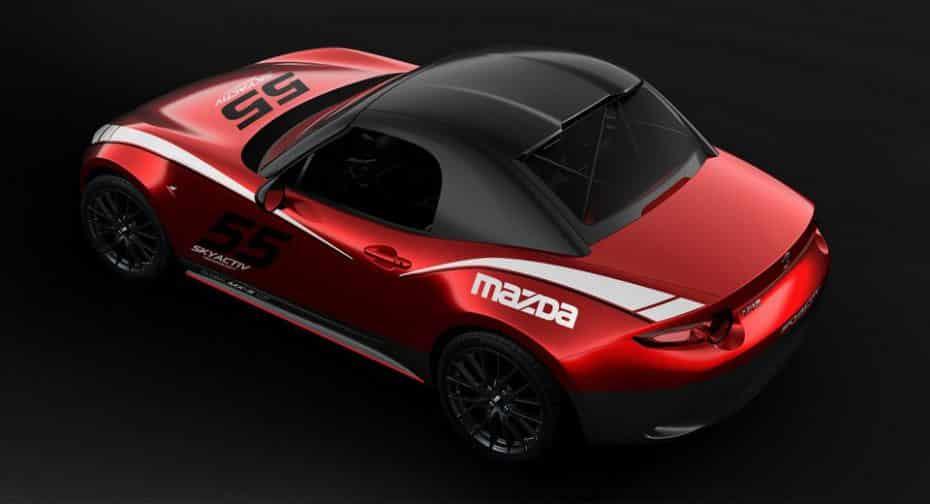 El Mazda MX-5 ahora también con techo rígido desmontable: Por desgracia, solo para los circuitos