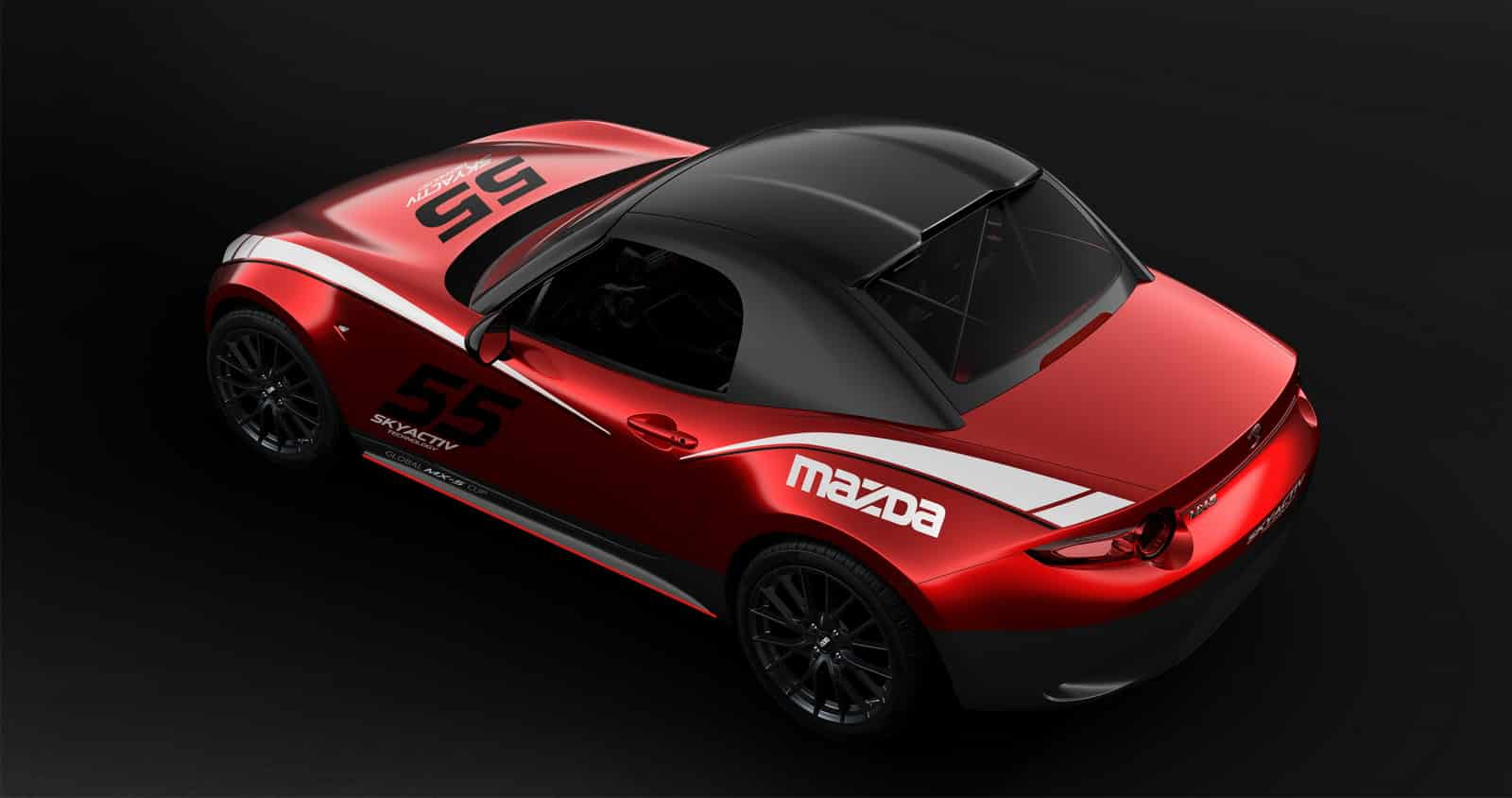 Mazda MX-5 Cup techo rígido