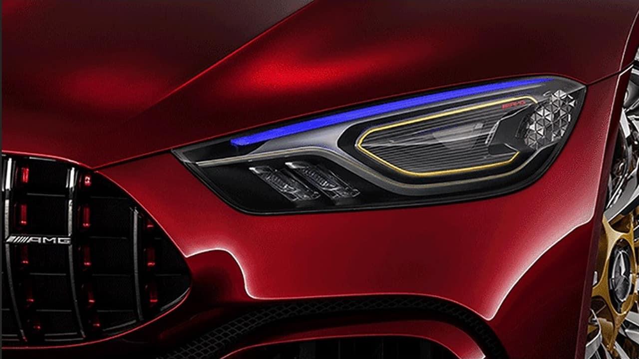 El Mercedes-AMG GT continúa desvelándonos secretos: Ahora sus faros de alta tecnología