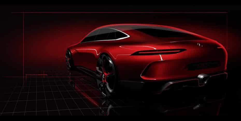 El Mercedes AMG GT de 4 puertas estará en Ginebra para plantar cara al Porsche Panamera