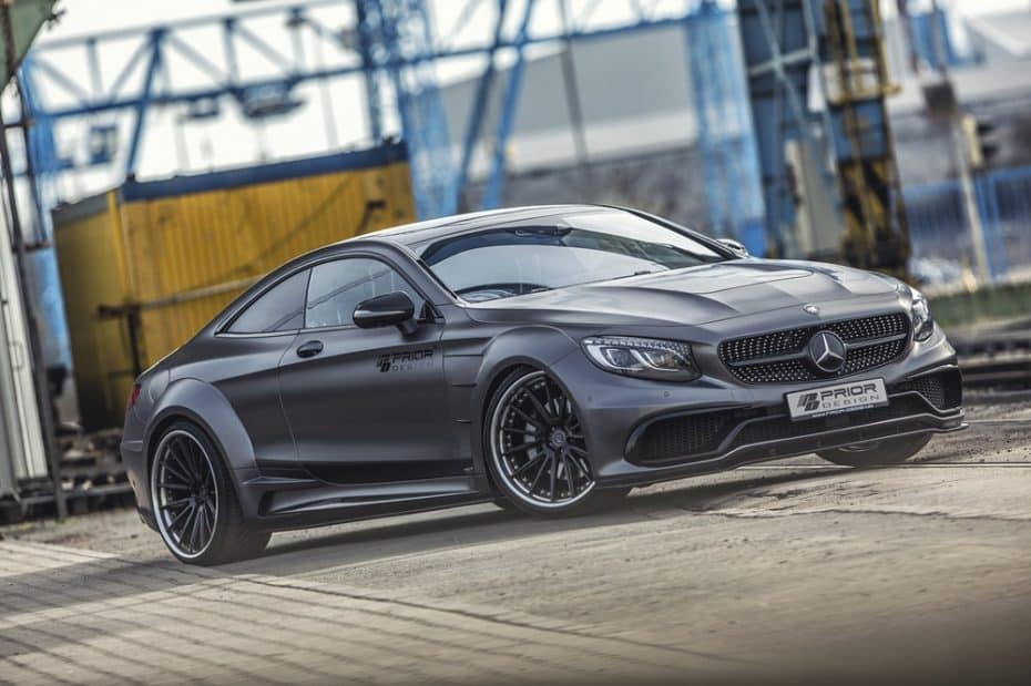 ¿Demasiado discreto el Mercedes-AMG S 63 Coupe? Tranquilo, Prior Design tiene la clave