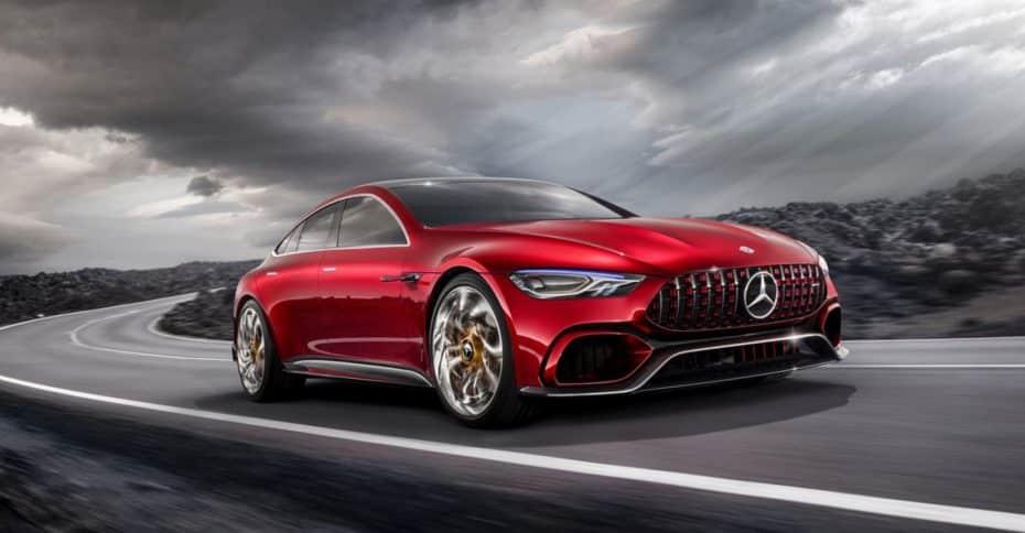 Mercedes-Benz AMG GT Concept: ¿Buscando destronar al Porsche Panamera?