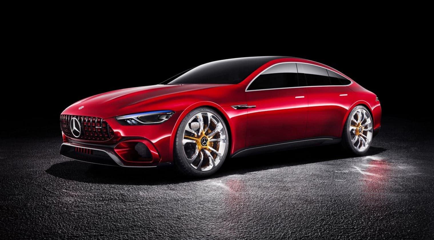 Mercedes Benz AMG GT Concept 10