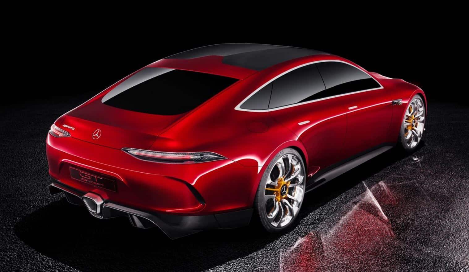 Mercedes Benz AMG GT Concept 12
