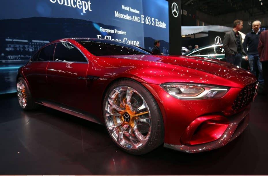 El Mercedes-AMG GT Concept en directo: El Porsche Panamera debe tener cuidado…
