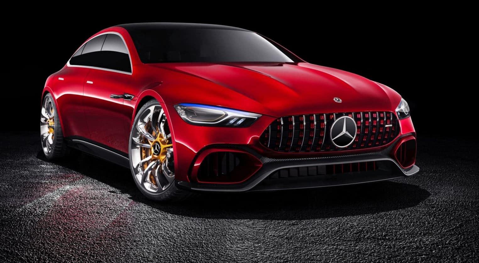 Mercedes Benz AMG GT Concept 9