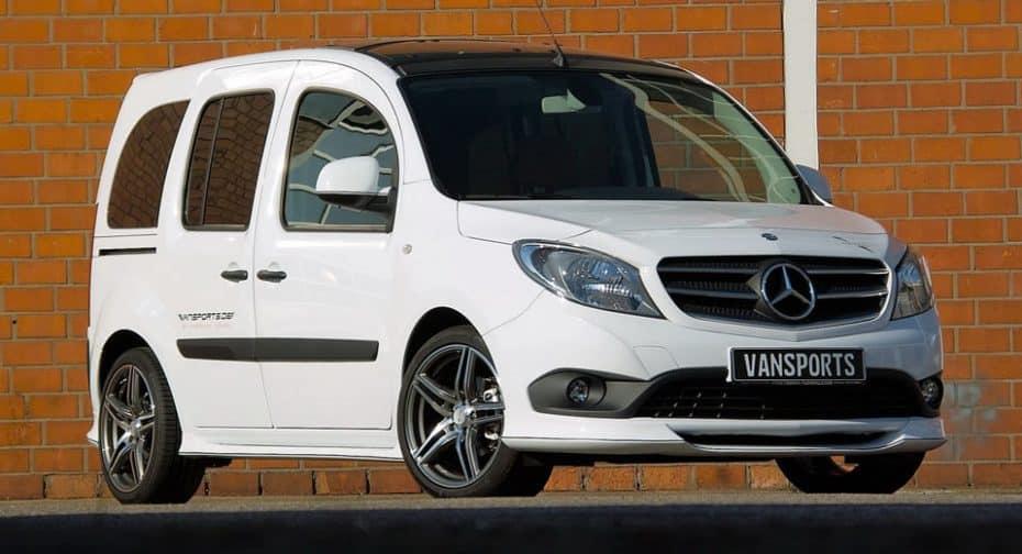 Hartmann ahora le da un toque más deportivo al Mercedes-Benz Citan, para ir a trabajar con estilo