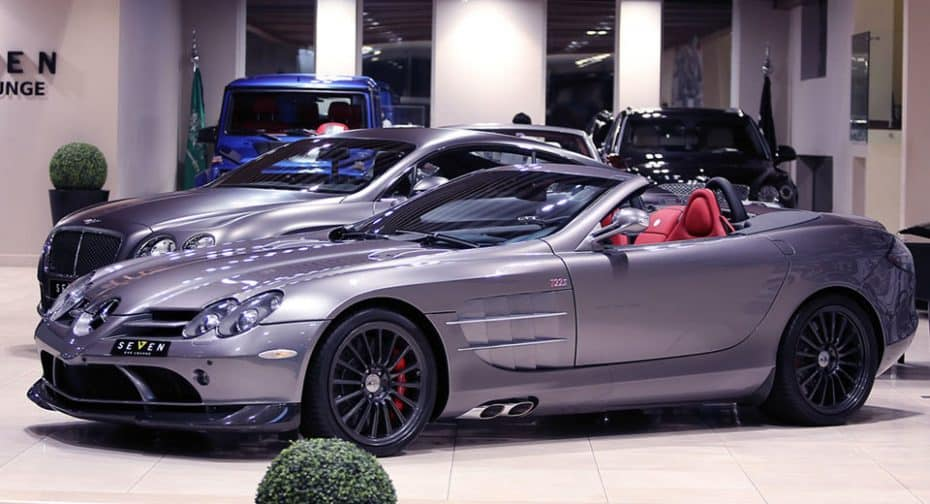 Este extraño Mercedes SLR 722 S Roadster busca un nuevo hogar ¿Pagarías 685.000 euros por él?