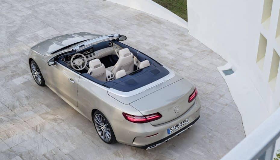 Así es el nuevo Mercedes-Benz Clase E cabrio: Juego de escalas a cielo abierto