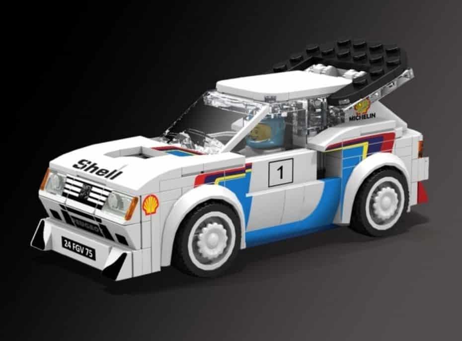 ¿Y si el mítico Peugeot 205 T16 regresara en formato LEGO?