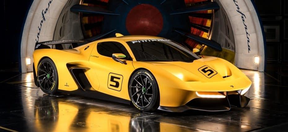 Pininfarina deslumbra en el Salón de Ginebra: Un 'juguete' de circuito y una nueva berlina híbrida