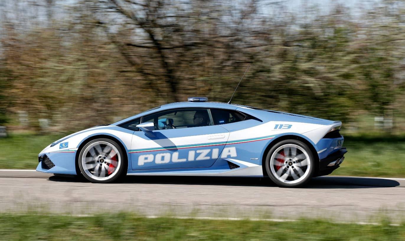 Polizia Huracan Lamborghini 4