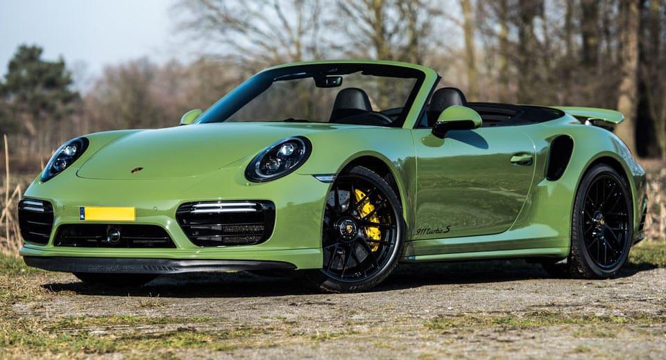 Edo Competition nos trae este Porsche 911 Turbo S más potente e increíblemente atractivo