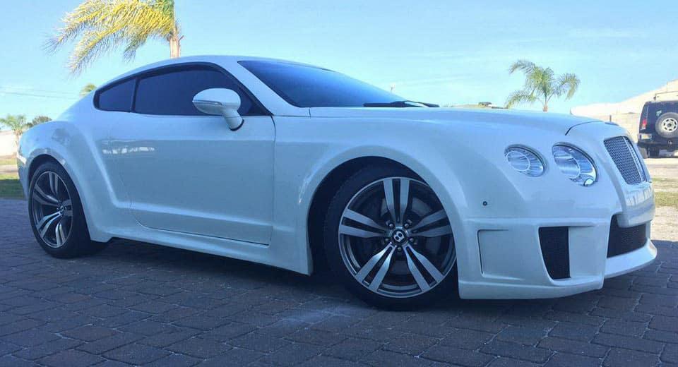 Esta réplica de un Bentley Continental GT puede ser tuya por menos de 50.000 euros y esconde un Ford Mustang
