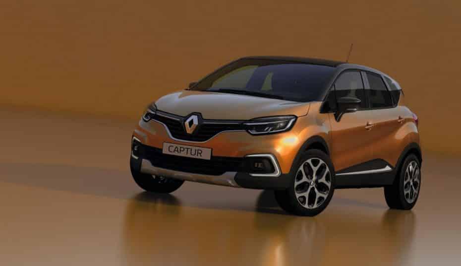 Todos los precios del renovado Renault Captur para España