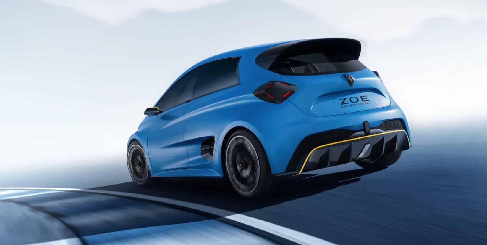 Renault ZOE e-Sport Concept 2