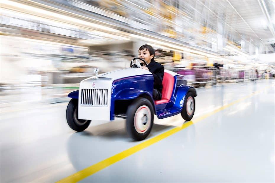 Rolls-Royce ha creado su coche más pequeño de la historia para un cliente muy especial…