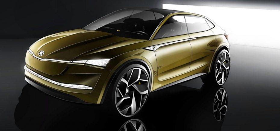 El VISION E es el futuro de Škoda: 100% eléctrico y con hasta 500 km de autonomía…
