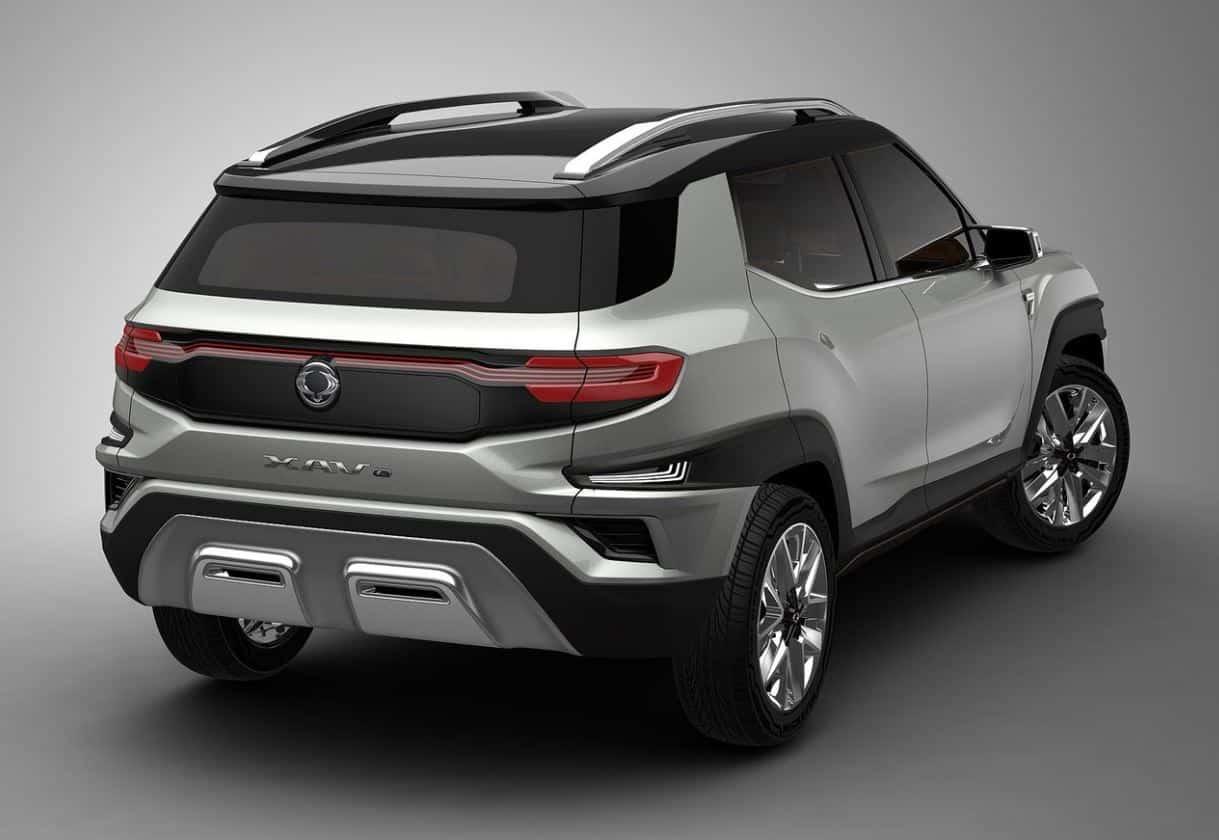 SsangYong XAVL Concept 7