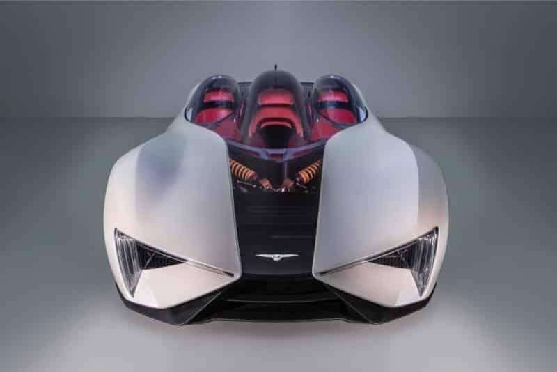 Así es el superdeportivo 'Ren' de Techrules: Más de 1.200 CV de potencia y una autonomía de 1.170 km