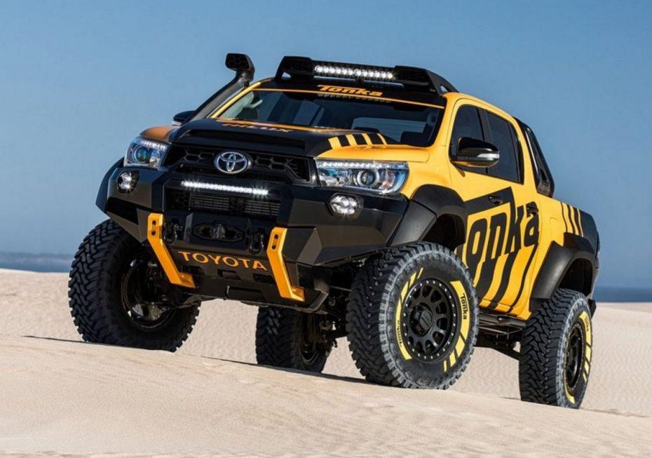 """Toyota HiLux Tonka Concept: Un juguete para """"niños grandes"""""""