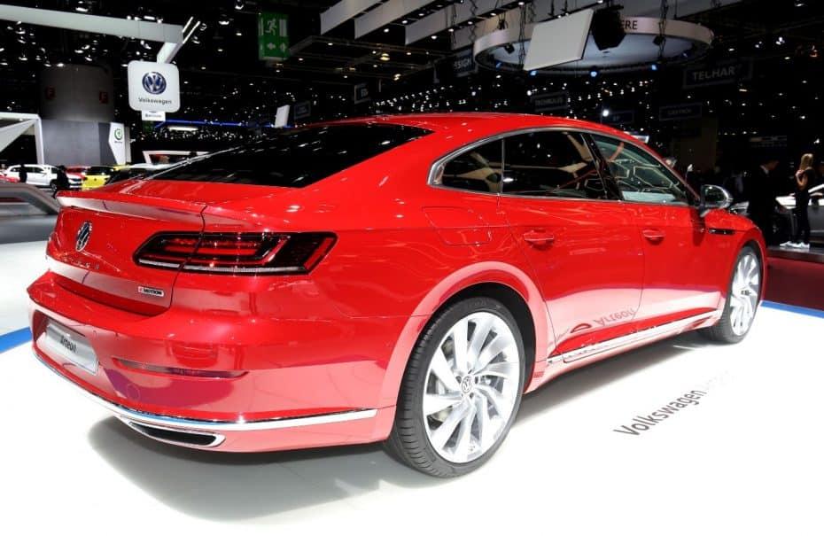 Volkswagen Arteon: El relevo del Passat CC es muy espectacular en directo