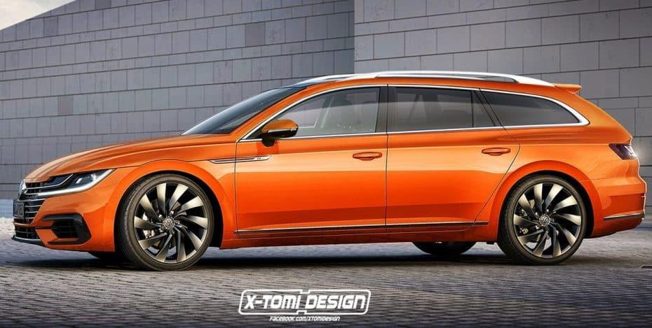 ¿Te encanta el Volkswagen Arteon? Juzga tú mismo esta versión familiar que podríamos llegar a ver
