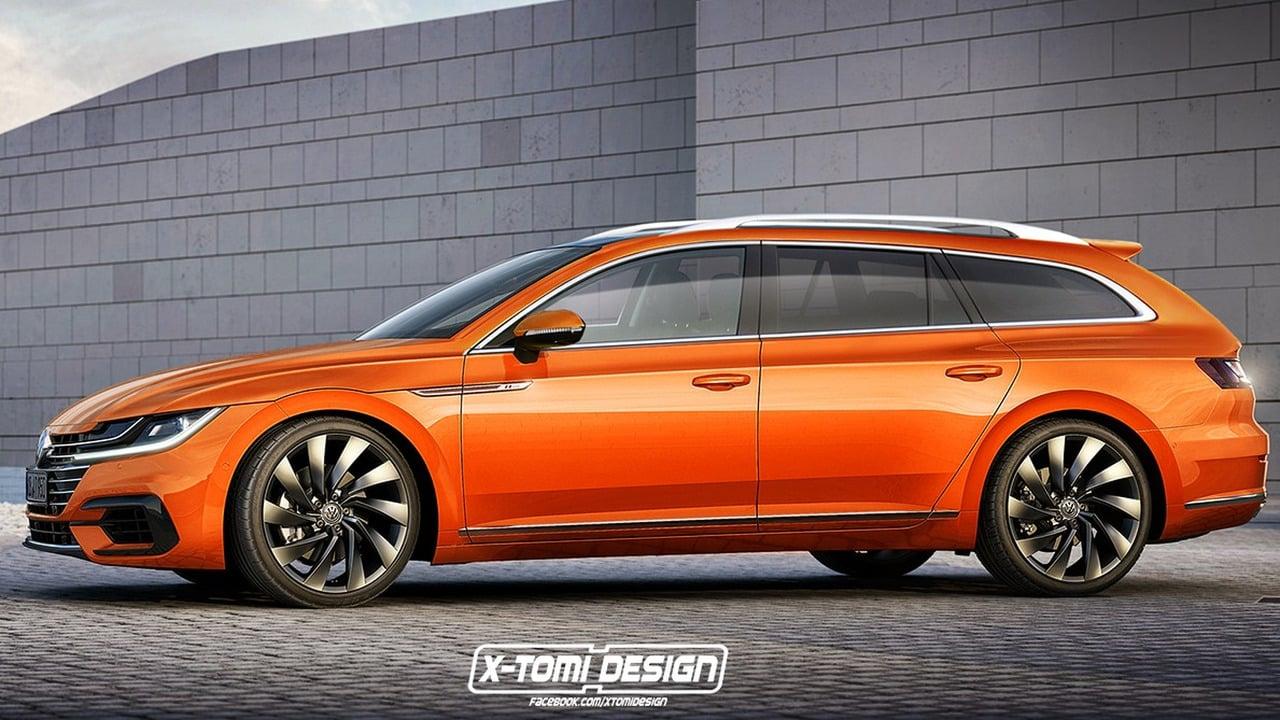 Volkswagen Arteon render