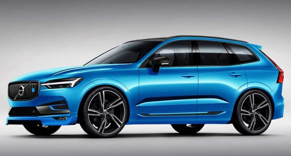 ¿Y si el objetivo del Volvo fuera Audi?: Esta recreación del XC60 Polestar podría llegar a ser real