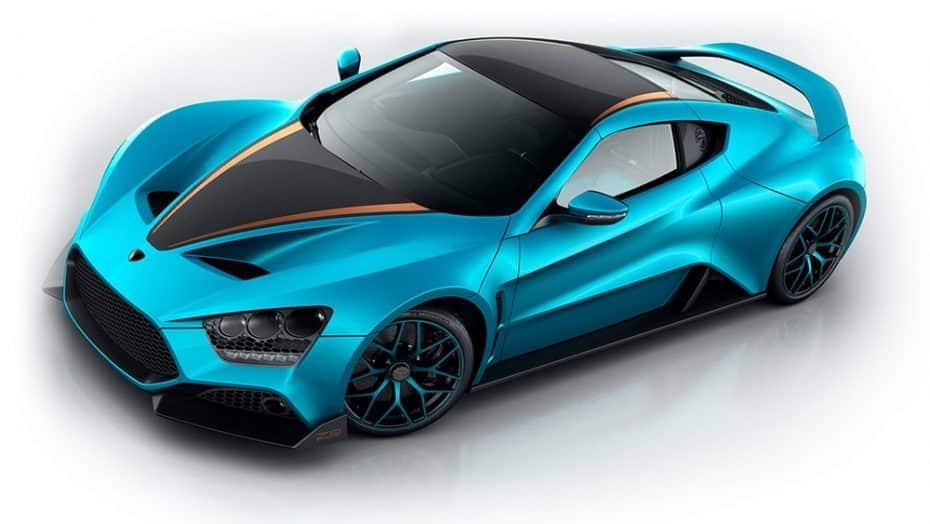 Zenvo TS1 GT: Que no te engañe su color azul pitufo, esconde 1.163 CV y 1.100 Nm de par