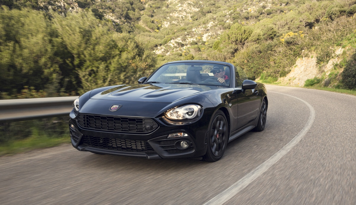 el abarth 124 spider scorpione listo para su. Black Bedroom Furniture Sets. Home Design Ideas