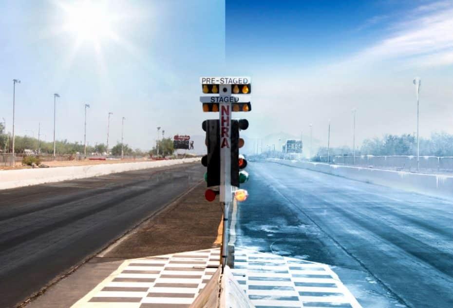 ¿Emplear el aire acondicionado para enfriar el aire de admisión?: Sí, en el Challenger SRT Demon
