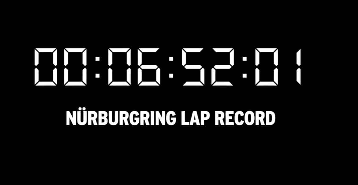 récord de nürburgring