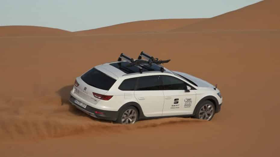 Nueva edición especial «Titan Desert» para el SEAT León X-Perience