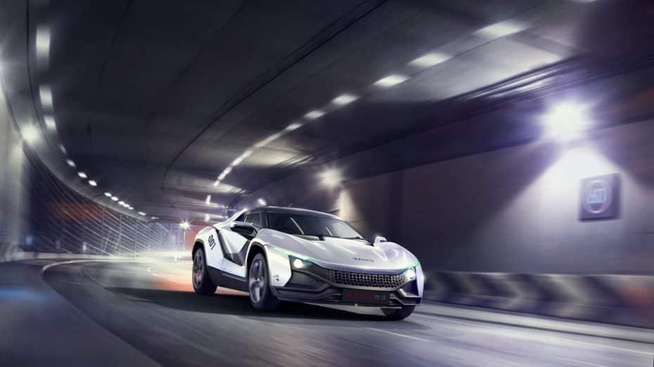 TAMO, la nueva marca de TATA para vehículos deportivos presenta el Racemo