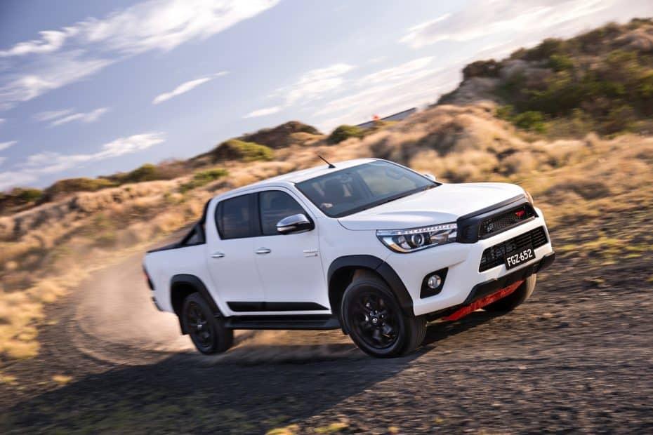 TRD pone a tono el Toyota Hilux: De momento para Australia