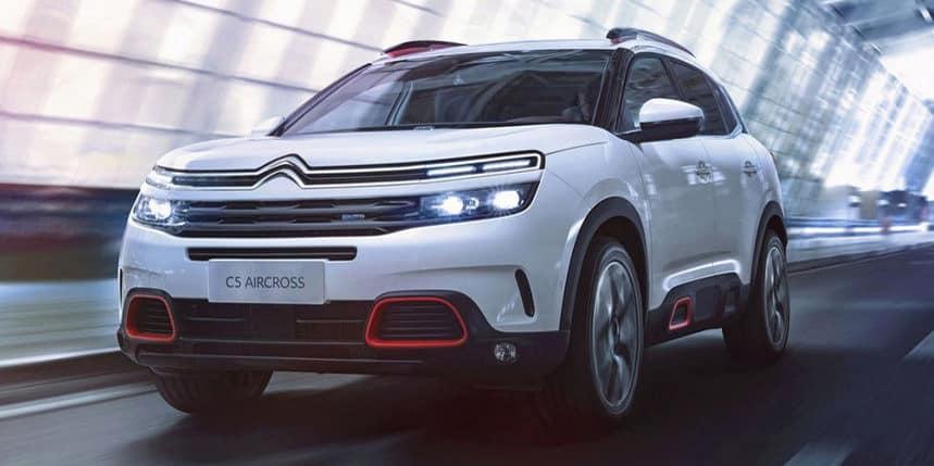 Nuevas imágenes del Citroën C5 Aircross que debutará en China esta semana