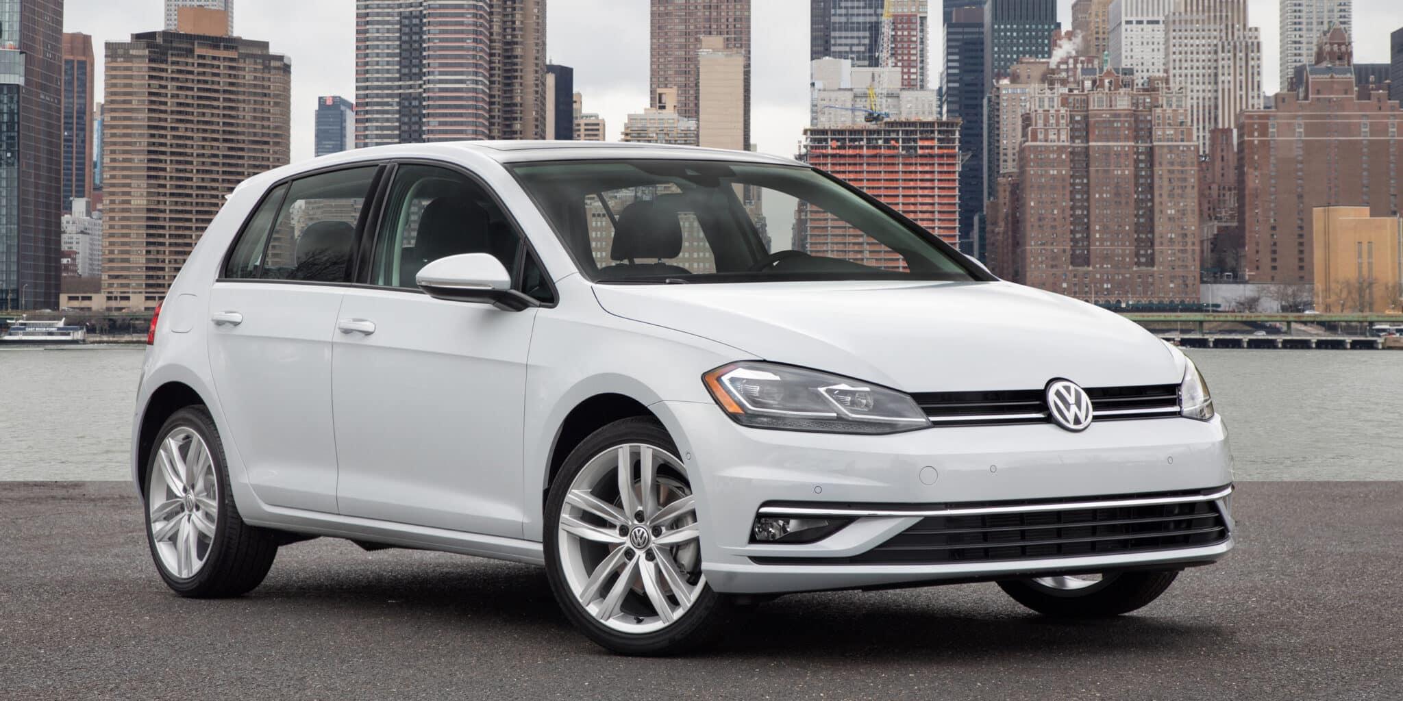 Así es la renovada gama Volkswagen Golf para Estados Unidos: Desde 170 CV