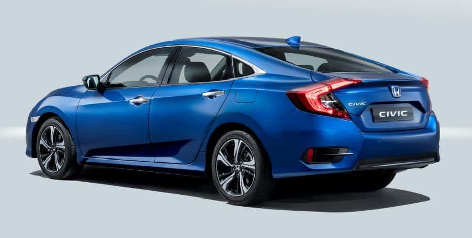 Honda llevará al Salón de Barcelona los nuevos Civic Sedán y Type R