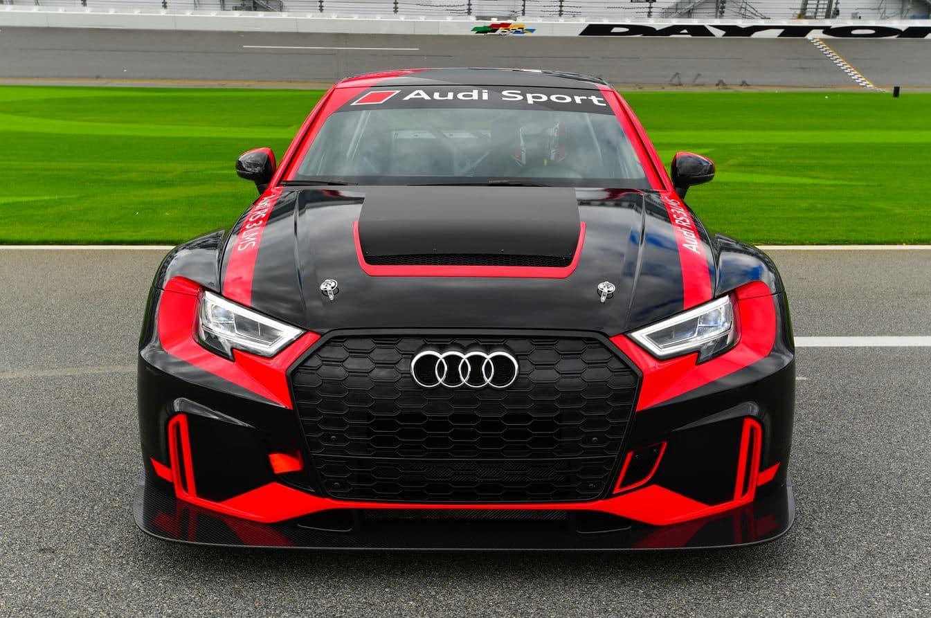 """Así es el Audi RS3 LMS Clubsport, el pariente """"americano ..."""