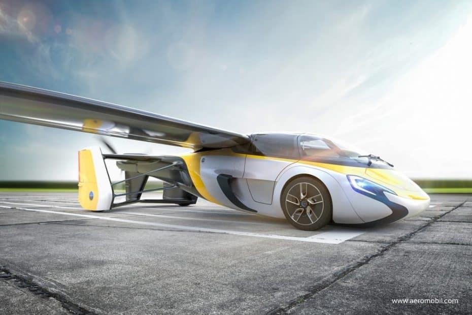 El polémico coche volador AeroMobil 3.0 finalmente verá la luz para producción la próxima semana
