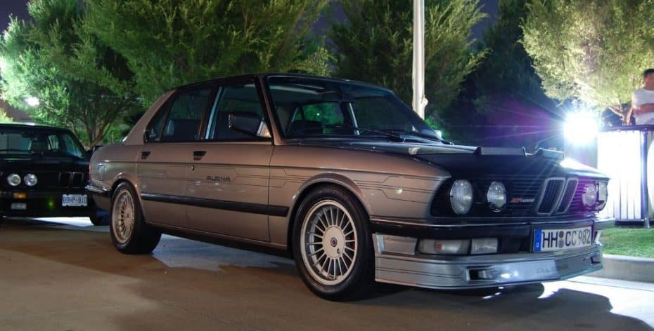 Solo existen 4 Alpina B7 Turbo sobre la base del BMW M5: Este está impecable y a muy buen precio