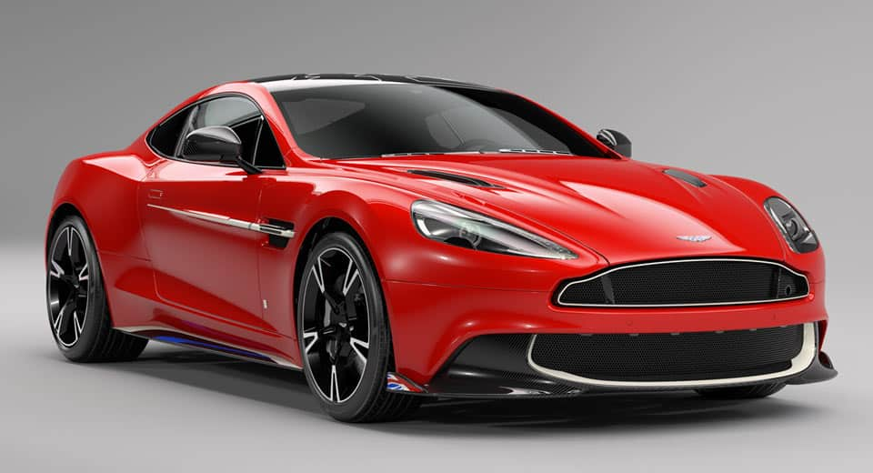 Aston Martin Vanquish S 'Red Arrows Edition': Un superdeportivo de altos vuelos