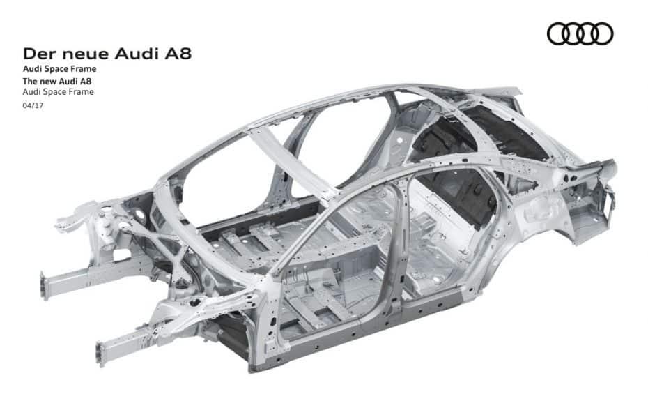 ¿Circular con el motor apagado a 160 km/h? El nuevo Audi A8 2018 podrá hacerlo