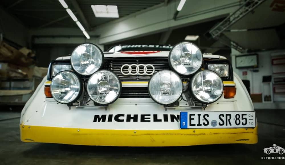 Este Audi Quattro Sport S1 es una réplica, pero es mucho mejor que el modelo original