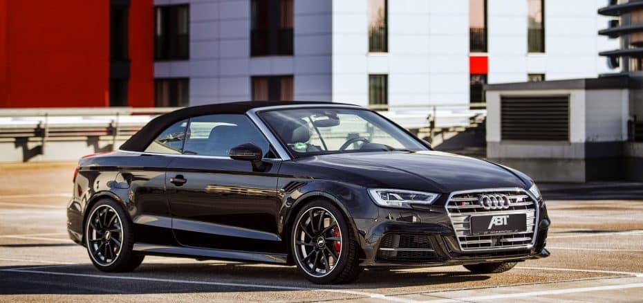 El Audi RS3 Cabrio no existe pero ojo a este S3 Cabrio de ABT porque da las mismas cifras