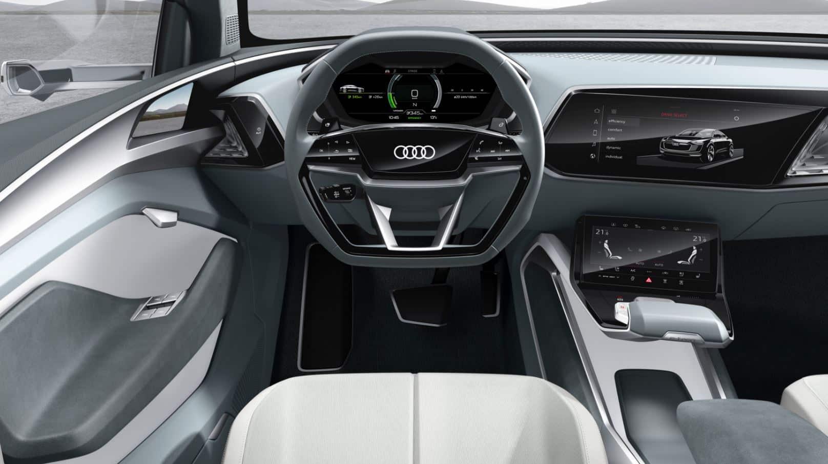 Audi e-tron Sportback concept 12