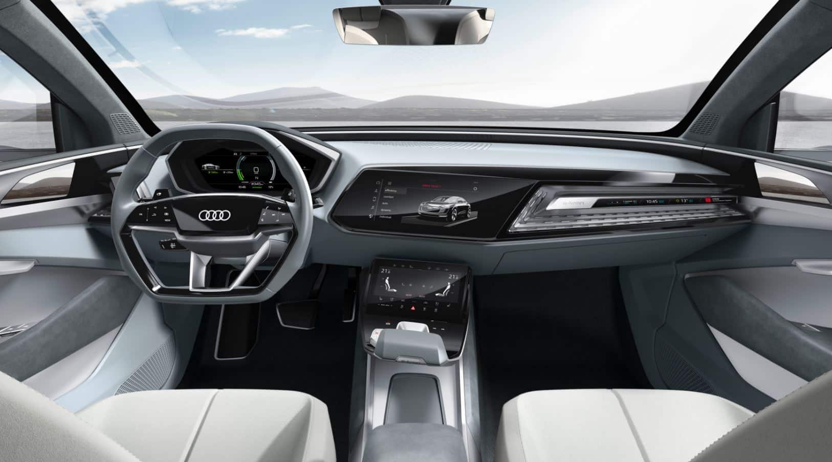 Audi e-tron Sportback concept 14