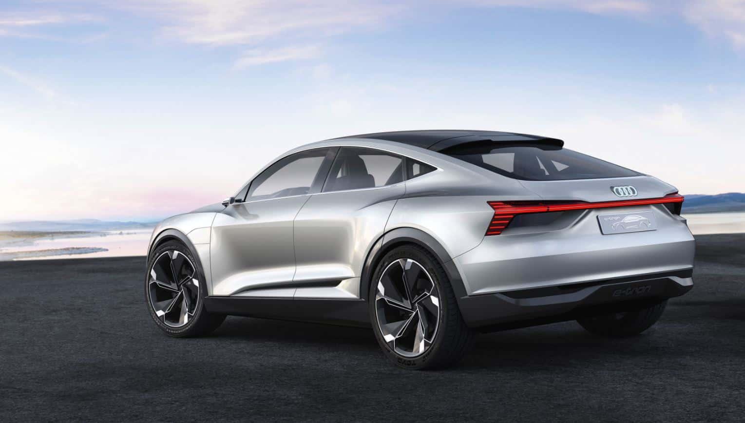 Audi e-tron Sportback concept 5